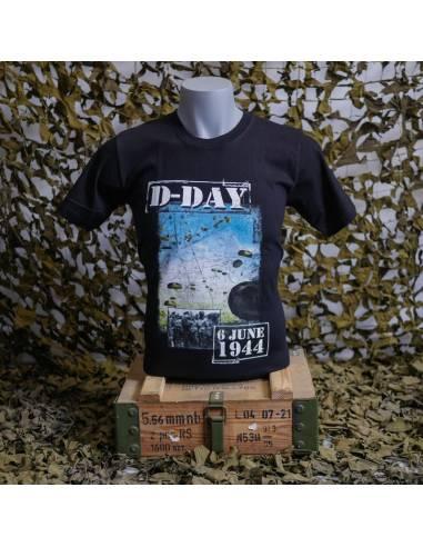 """T-shirt D-day """"6 june 1944"""""""