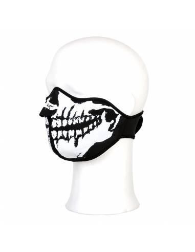 Mask half face Skull