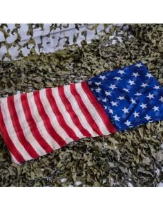 Écharpe drapeau américain