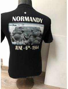 T-shirt D-day noir&blanc