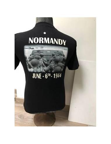 T-shirt D-day noir&blanc