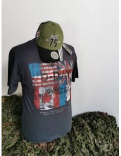 T-shirt D-day 4 drapeaux
