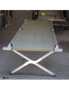 Picot Alu Reinforced Camp Bed