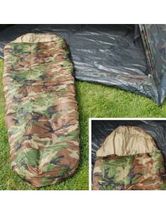 Sleeping bag camouflage