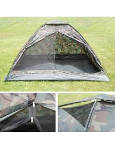 Tente camouflage pour 3 personnes