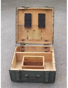 Wooden crate French Army