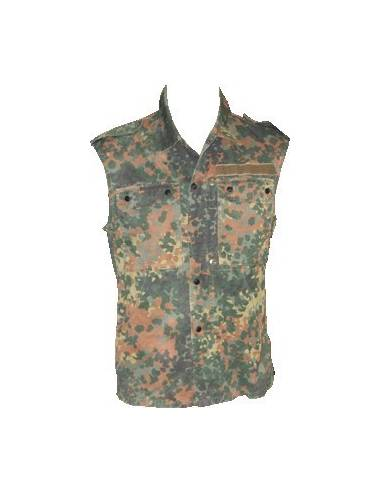 Jacket without sleeve Flecktarn