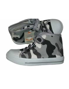 Chaussures enfant camouflage
