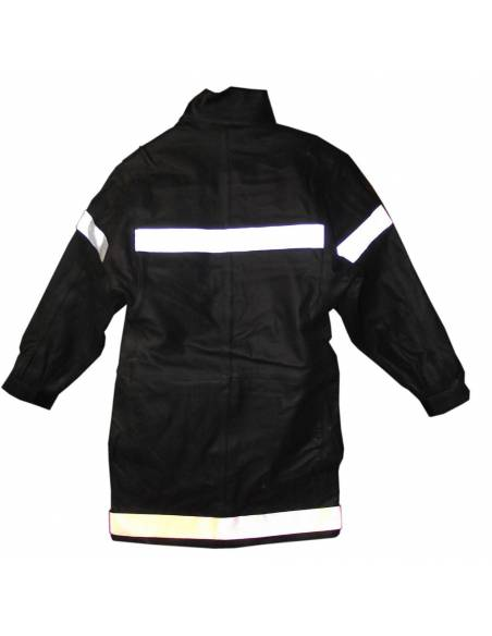 Jacket response Firefighter leather occasion