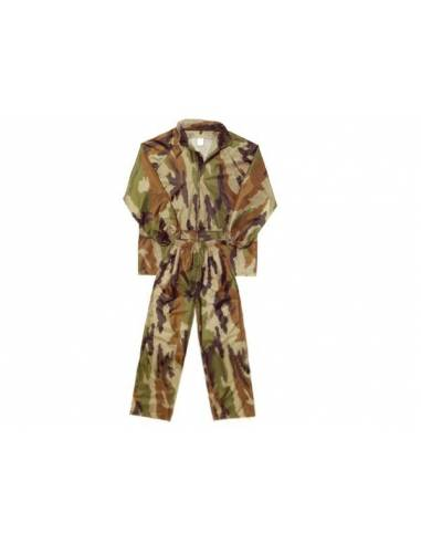 ALL WATERPROOF trousers and jacket in Camo THIS
