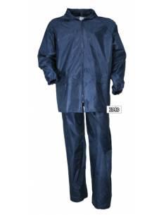 ENSEMBLE IMPERMEABLE pantalon et veste bleu