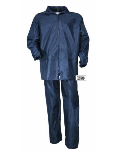 ALL WATERPROOF pants and jacket blue