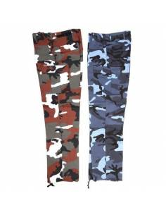 Pants BDU US Midnight Urban/Red Camo