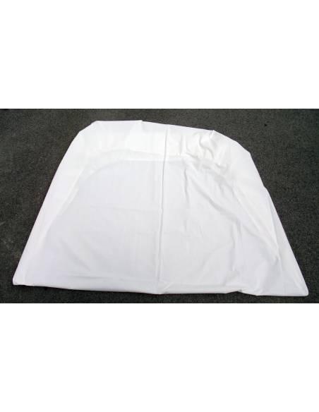Drap housse blanc pour Lit 90cm