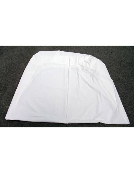 Fitted sheet white Bed 90cm