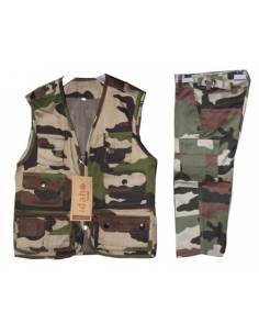 Set-Jacket and Pants camouflage