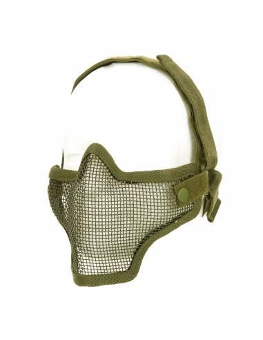 Masque Airsoft avec grille métallique
