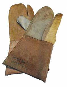 Glove leather fitting-barbed wire Year 50