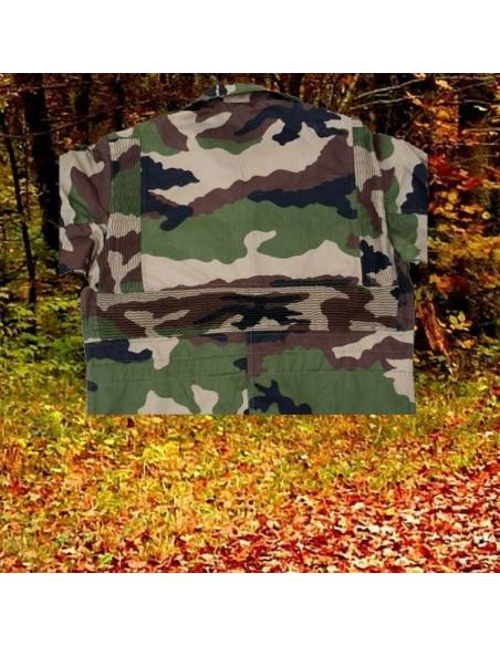 Combination camouflaged with bellows ridge French Army Original