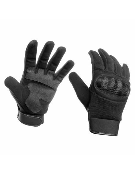 Glove shell stretch