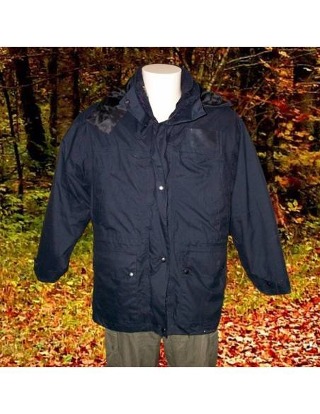 Parka with removable liner
