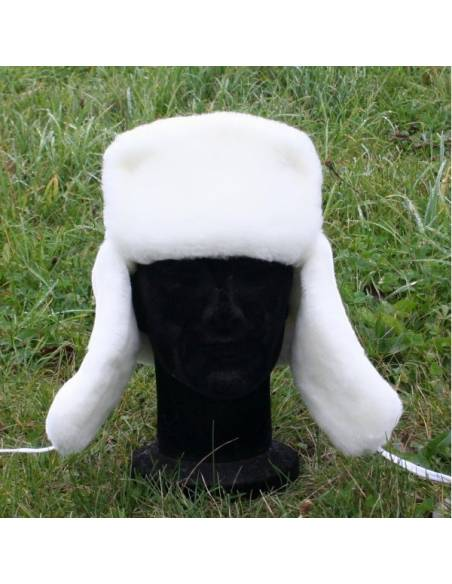 Fur Hat White Russian