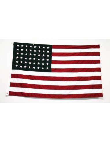 USA flag WW2 embroidered