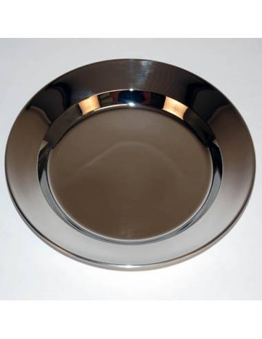 Plate in Stainless steel