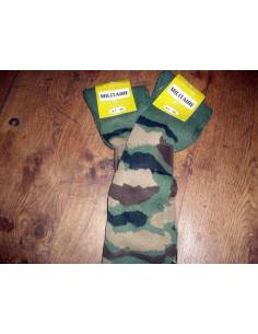 Pack of 2 socks knee socks camouflage