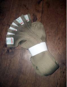Lot de 5 de chaussettes kaki Armée Italienne