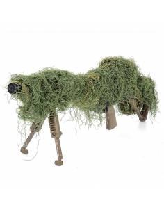 Camouflage rifle