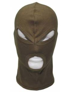 Balaclava, 3 hole, cotton