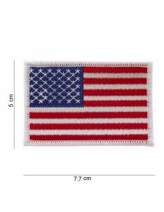 Crest American flag