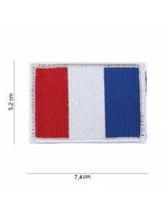 Écusson drapeau France avec velcro