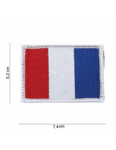 Crest flag France with velcro