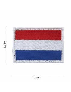 Écusson drapeau Hollande avec velcro
