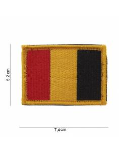 Crest flag Belgium with velcro