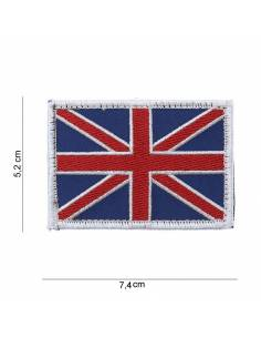 Crest flag United Kingdom with velcro