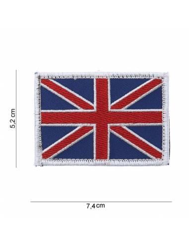 Crest flag United Kingdom with velcro